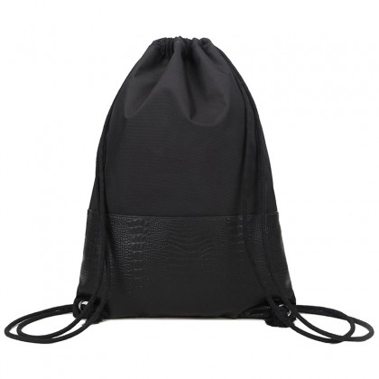 Werocker Crocodile Drawstring Bag