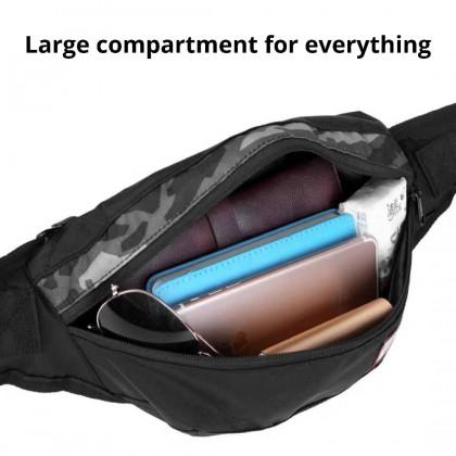 Life Teaches Chill Waist Pouch Bag 5188