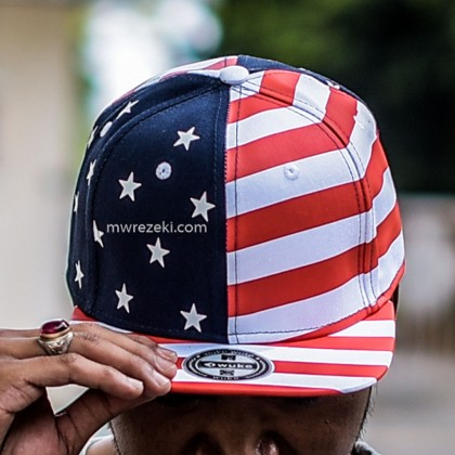Wuke USA Snapback Cap