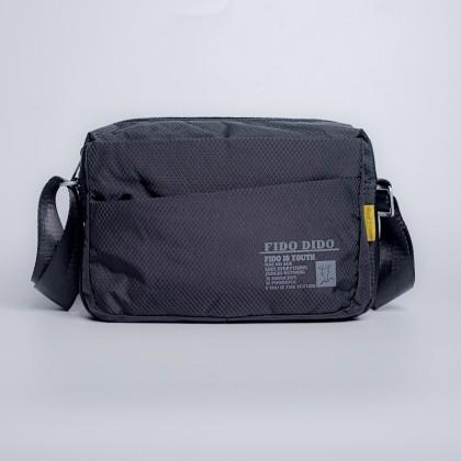 Fido Dido Lightweight Black Sling Bag (SMALL) 1318-1