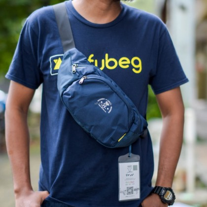 Fido Dido Cool Waist Pouch Bag