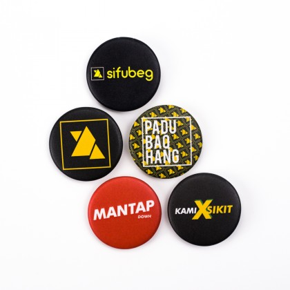 Sifubeg Button Badge Set (5pcs)