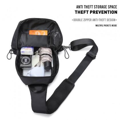Werocker Slicker Shoulder Bag Black