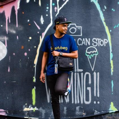 Sifubeg X Fido Dido Bag Sling Black Edition