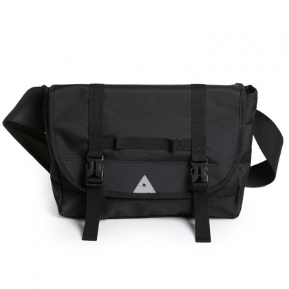 Werocker Black Jet Messenger Bag