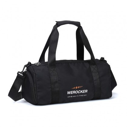 Werocker Urban Fitness Gym Bag Black