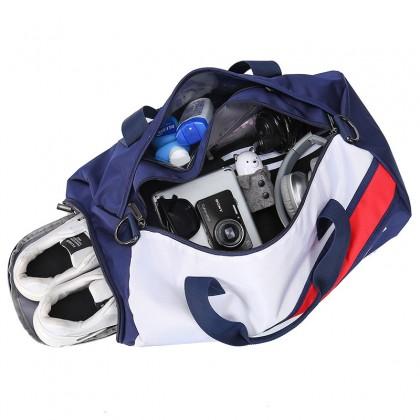 Werocker From London Duffel / Gym Bag Blue