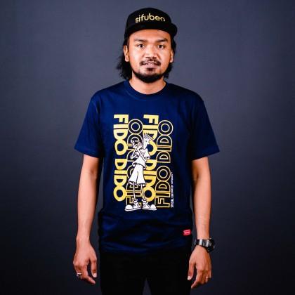 Sifubeg Fido Dido Rare Limited Edition T-shirt FDLE002 (Navy Blue)