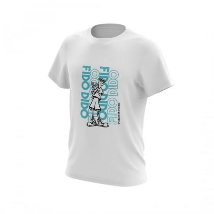 Sifubeg Fido Dido Rare2 Limited Edition T-shirt FDLE003 (White)