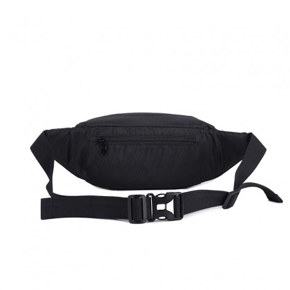 Life Teaches AirForce Waist Bag (Black)