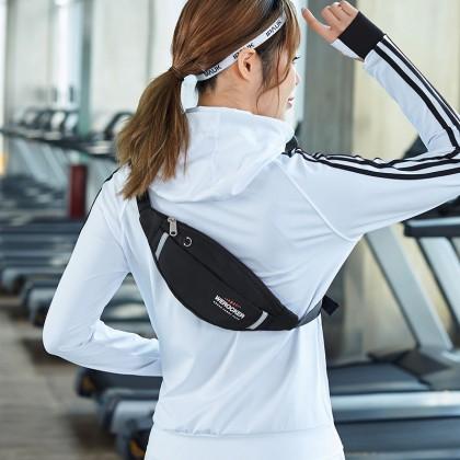 Werocker Ladies Sport Waist Bag 2821 (Black)
