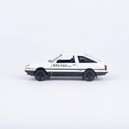 Initial D Trueno AE86 Metal Car Model