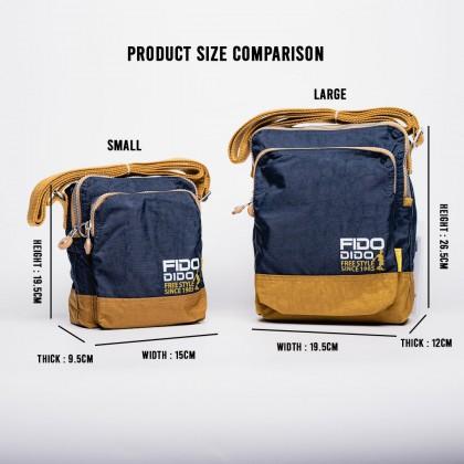 Fido Dido Rare Vertical Sling Bag 1409-4 (Small)
