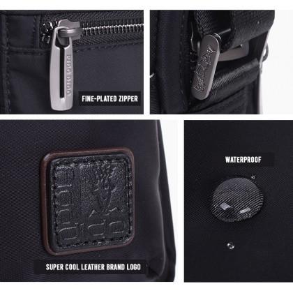 ((PRE ORDER)) Fido Dido Legend Sling Bag 1516-4 (Black)